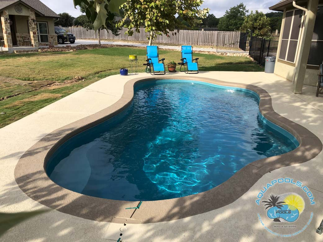aviva pools for san antonio from aquamarine pools