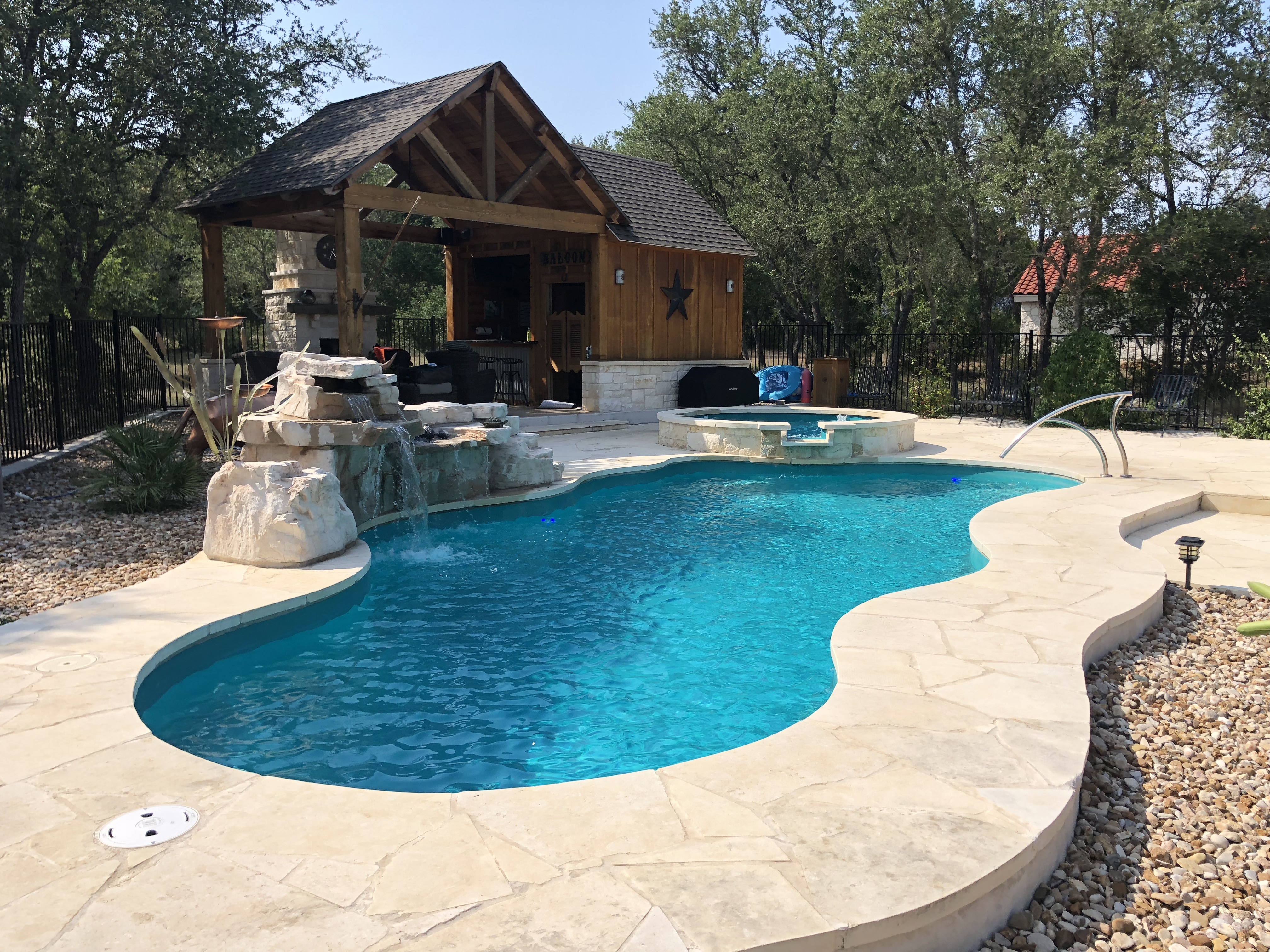 fiberglass pool colors