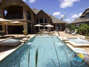 Large Fiberglass Pool