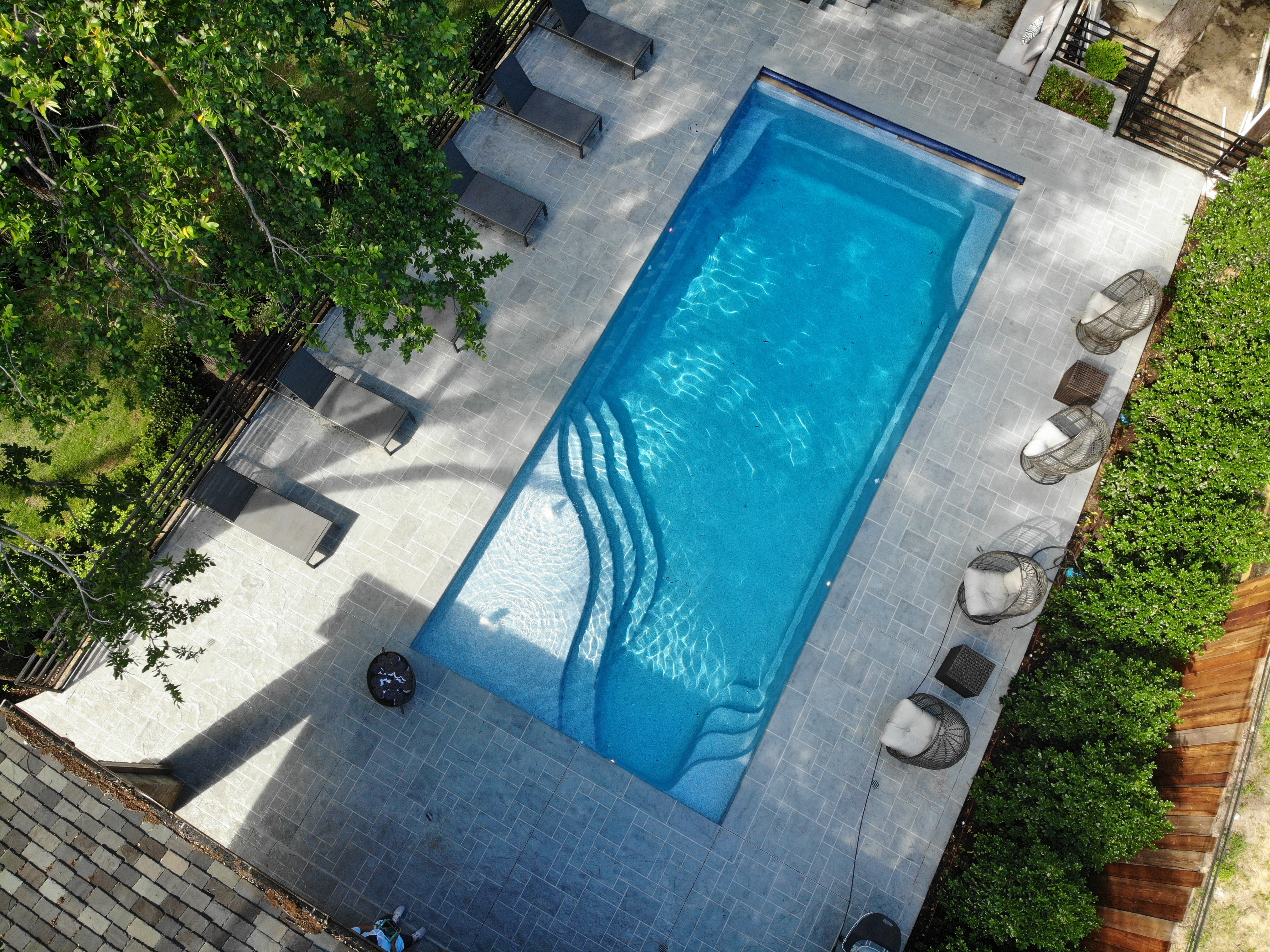 Rectangle Pool by Aqua Pools