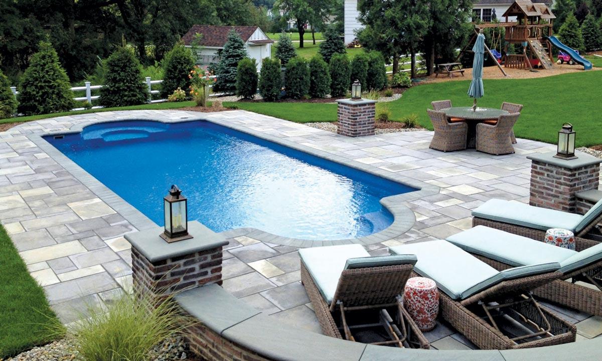 What is a fiberglass pool