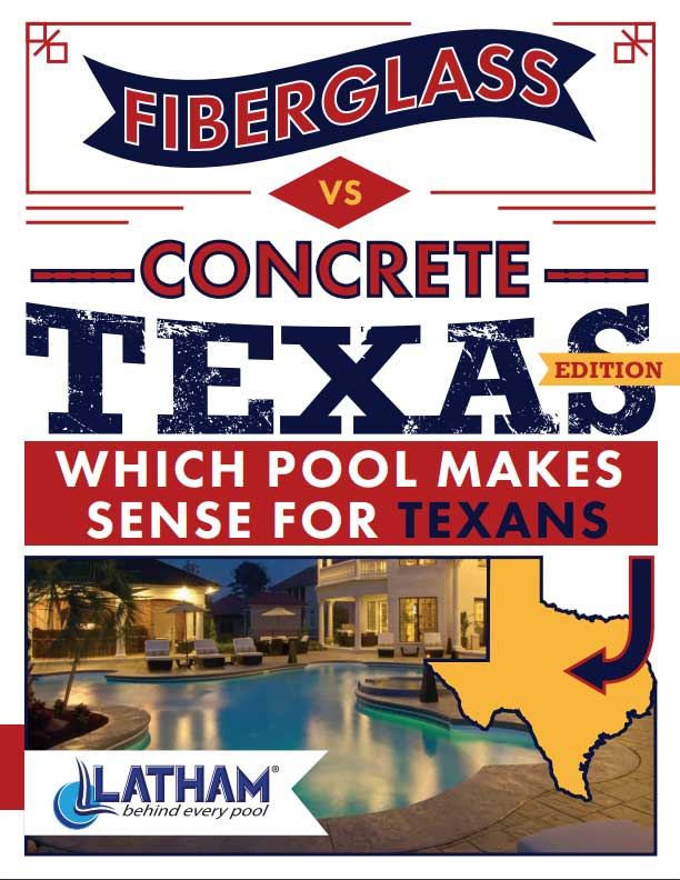 Concrete Swimming Pools or Fiberglass Swimming Pools in Texas