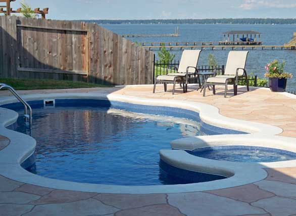 Aquamarine Pools texas showroom