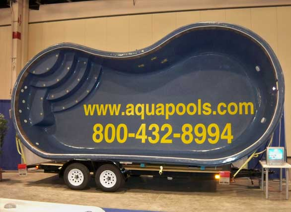 The aqua group fiberglass pools spas welcome austin for Least expensive inground pool