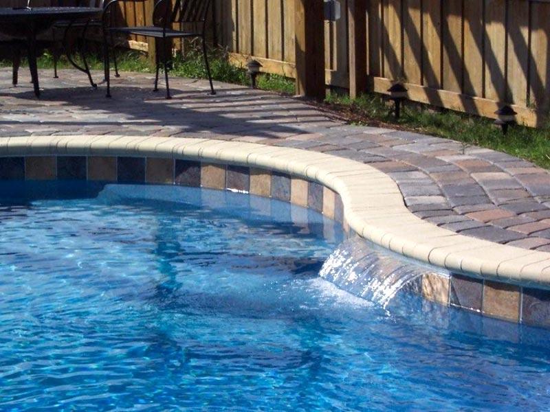 The Aqua Group Fiberglass Pools Spas Fiberglass Swimming Pool Cascades For Austin Beaumont