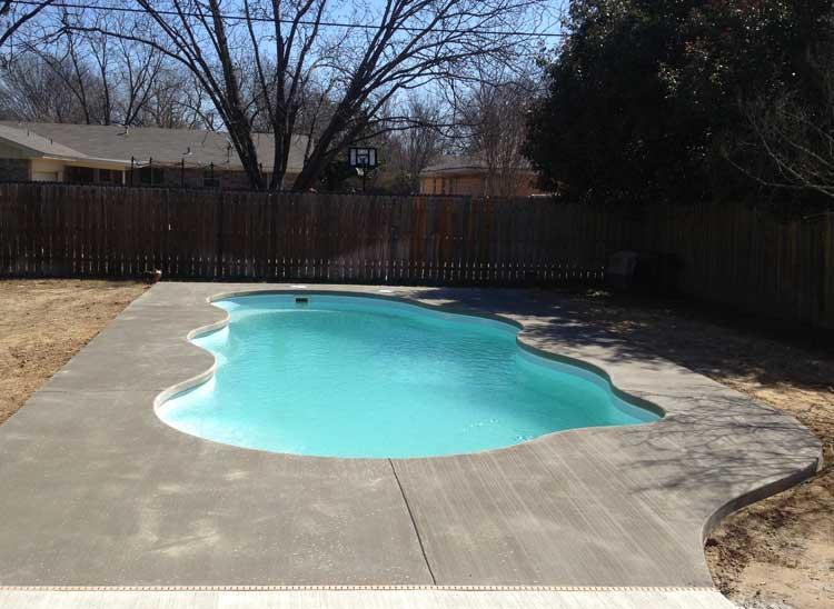 Aquamarine Pools Texas pool certificate