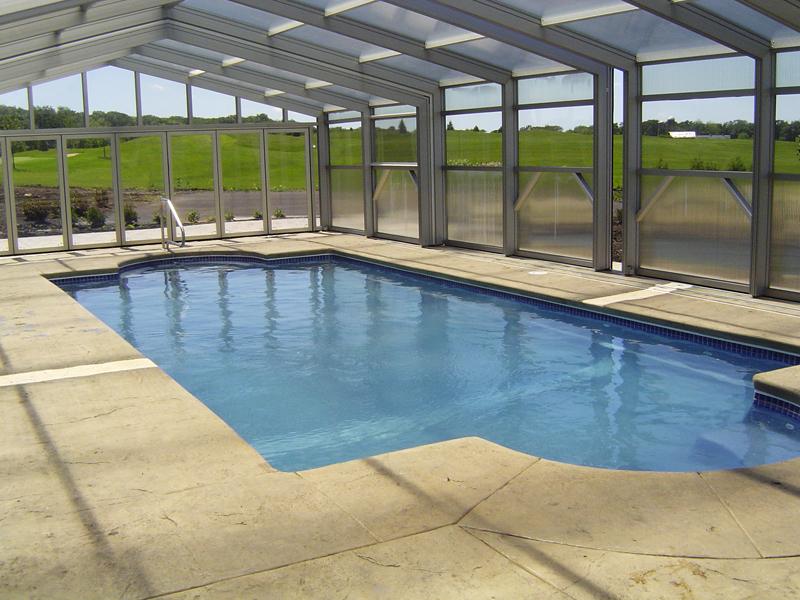 Aquamarine Pools | Fiberglass Pools from Viking Pools Classic Model ...