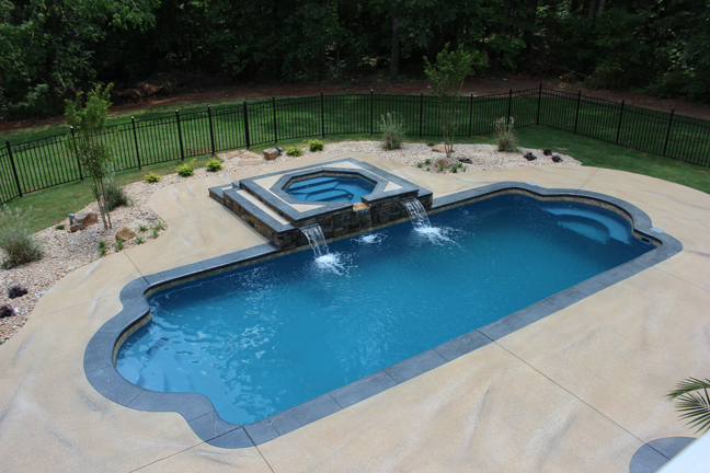 Aquamarine Pools Fiberglass Pools Amp Spas Trilogy Pools