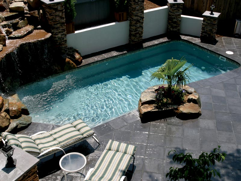 liberty composite pools from aquamarine pools