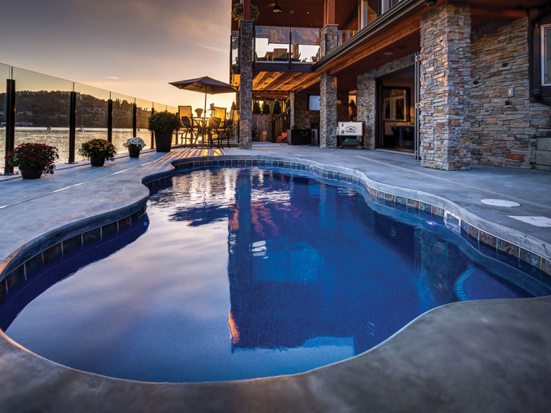 viking pools fiberglass swimming pools for texas