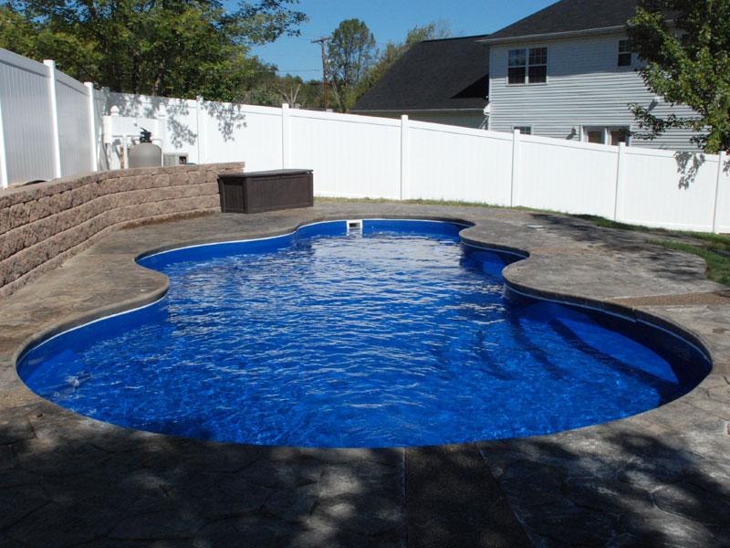 Aquamarine Pools Fiberglass Pools Amp Spas Trilogy Pools