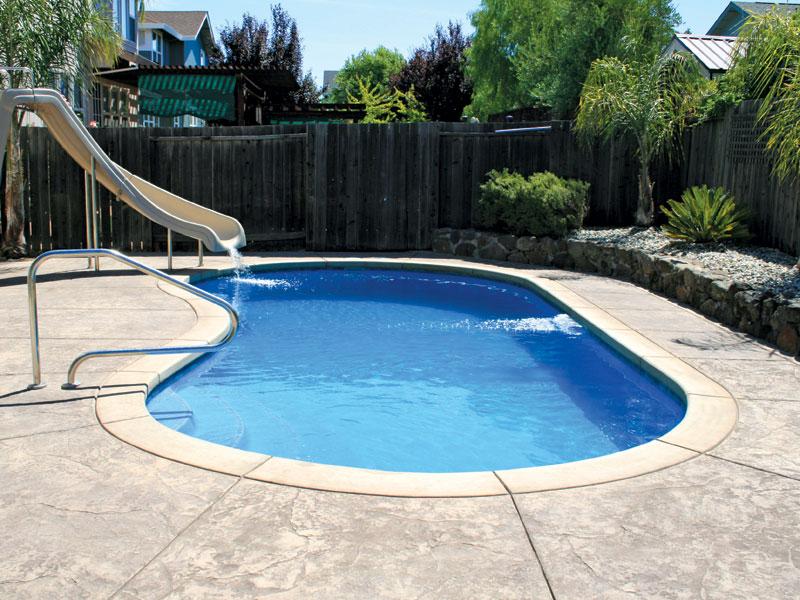 Aquamarine Pools Fiberglass Pools Amp Spas Blue Hawaiian