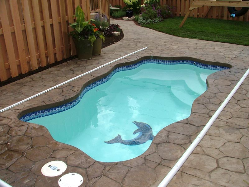 The Aqua Group Fiberglass Pools Spas Fiberglass Swimming Pool Mosaic Tiles For Austin
