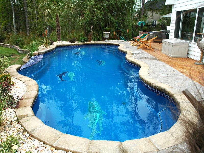The Aqua Group Fiberglass Pools Spas Fiberglass Swimming Pool Mosaic Tiles For Austin