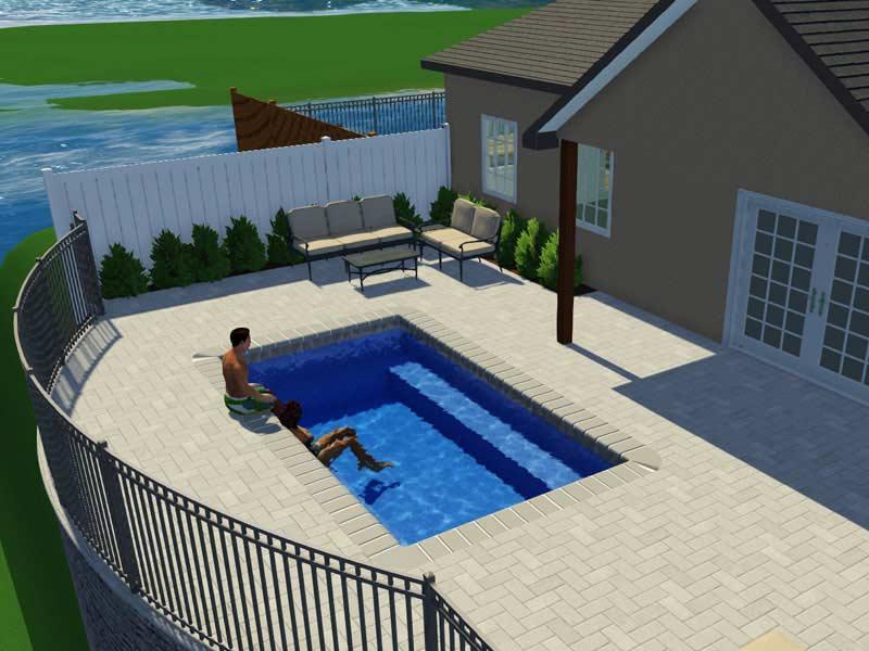 The Aqua Group Fiberglass Pools Spas Trilogy Pools Rectangle