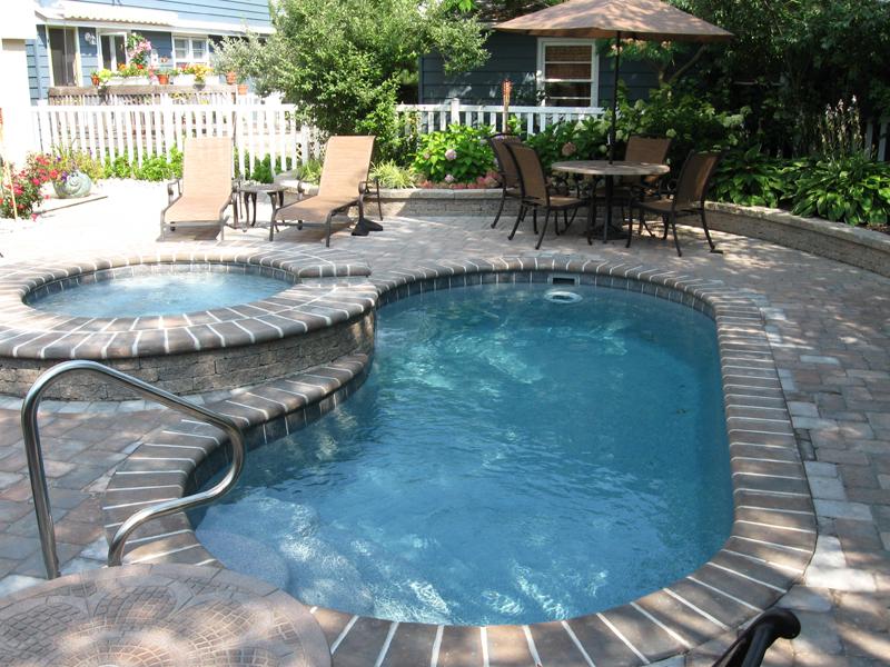 Fiberglass Lap Pool