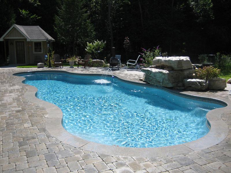 The Aqua Group Fiberglass Pools Spas Fiberglass Swimming Pool Streams For Austin Beaumont