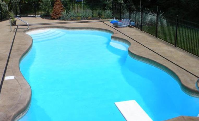 the aqua group fiberglass pools spas trilogy fusion pools genesis