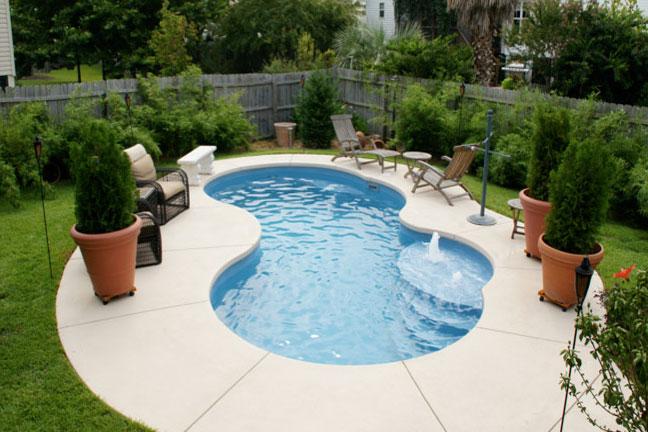 Aquamarine Pools Fiberglass Pools & Spas | Trilogy Pools Freeform ...