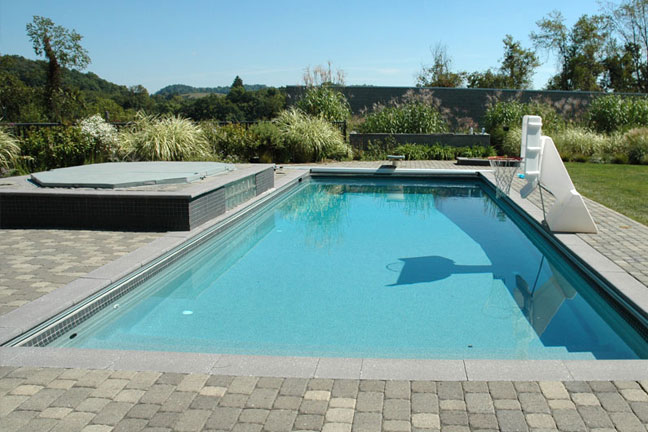 Rectangle swimming pools for houston, san antonio and dallas texas