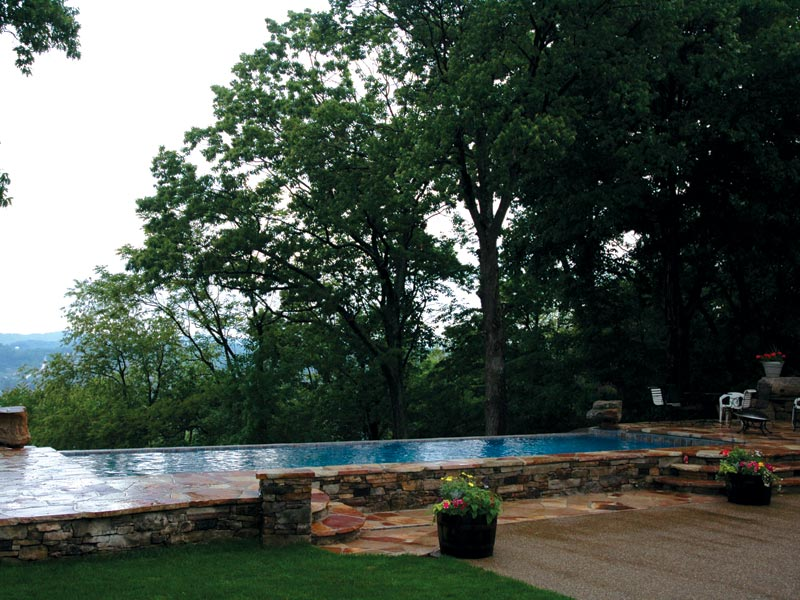 The Aqua Group Fiberglass Pools Amp Spas Vanishing Edge